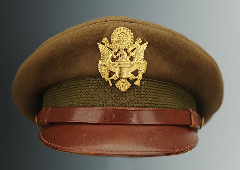 vraiment pas cher volume grand profiter de gros rabais CASQUETTE D'OFFICIER DE L'ARMÉE AMÉRICAINE, seconde guerre ...