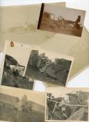 PHOTOGRAPHIES DE CRASHS D'AVIONS, Première Guerre Mondiale - Troisième République.