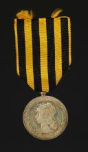 MÉDAILLE COMMÉMORATIVE DE L'EXPÉDITION DU DAHOMEY, créée en 1892, Troisième République.