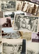 ENSEMBLE DE 44 PHOTOGRAPHIES DES TROUPES COLONIALES, DE TROUPES D'AFRIQUE ET DE PAYSAGE AFRICAINS, Troisième République.