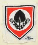 EMBLÈME POUR MAILLOT DE SPORT SU SERVICE DU TRAVAIL, RAD großes Emblem für den Sportanzug, Seconde Guerre Mondiale.