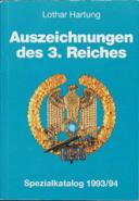 AUSZEICHNUNGEN DES 3.REICHES - Édition de 1993/1994