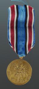 MÉDAILLE COMMÉMORATIVE DE LA GUERRE DE 1918-1921.