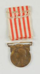 MÉDAILLE COMMÉMORATIVE DE LA GUERRE 1914-1918, crée 23 juin 1920.