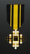 CROIX DE CHEVALIER DU MÉRITE TAI, créée en 1950, milieu XXème siècle.