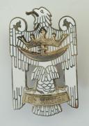 AIGLE DE SILÉSIE DE 1ère CLASSE, Schlesisches Bewährungsabzeichen - Schlesischer Adler Generalkommando VI. Armeekorps, créée en Juin 1919, Modèle de 1957, République Fédérale d'Allemagne.