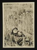 CARTE POSTALE DE PROPAGANDE DE SOLDAT DE LA WAFFEN-SS, Seconde Guerre Mondiale.