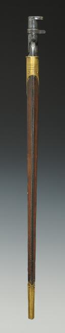 BAÏONNETTE BRITANNIQUE POUR FUSIL MARTINI-HENRY, modèle 1876, Ère Victorienne.