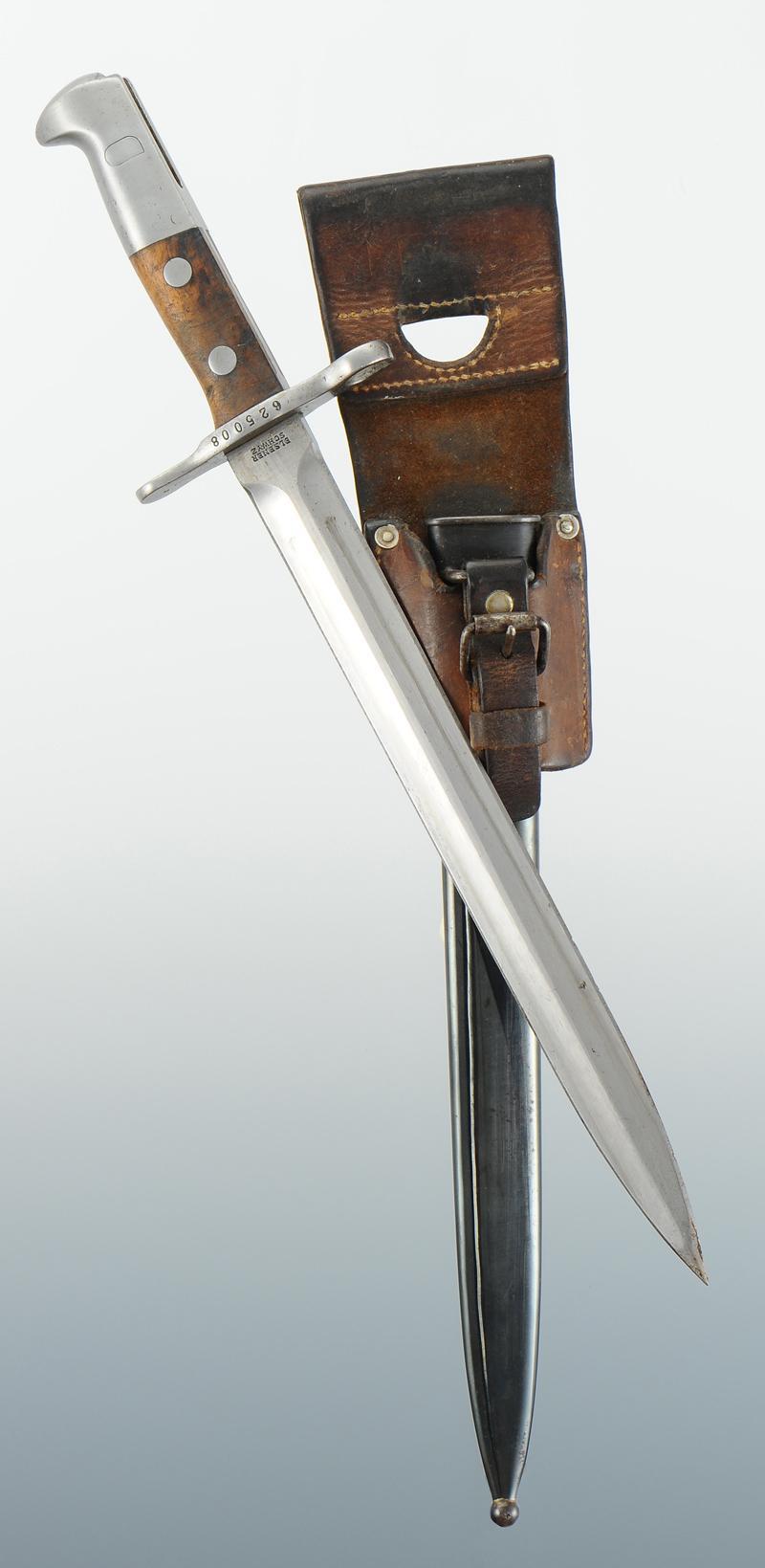 baionnette du fusil suisse schmidt rubin mod le 1889 mod le 1889. Black Bedroom Furniture Sets. Home Design Ideas