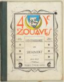 HISTORIQUE du 4e régiment de Zouaves (1942-1945).