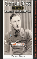 GERMAN CROSS IN GOLD, HOLDERS OF THE SS AND POLICE - volume 2.