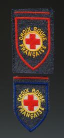 GRADES DE LA CROIX-ROUGE FRANÇAISE, modèle 1942, Seconde Guerre Mondiale.