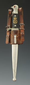 DAGUE DE SOUS-OFFICIER DE L'ARMÉE ROYALE ROUMAINE, modèle 1930, 1930-1940.