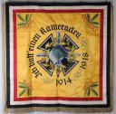 DRAPEAU D'ANCIENS COMBATTANTS de l'association des vétérans de Lombach 1898-1933.