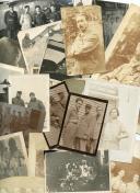 ENSEMBLE DE 29 PHOTOGRAPHIES PRINCIPALEMENT DE PILOTES, Première Guerre Mondiale.