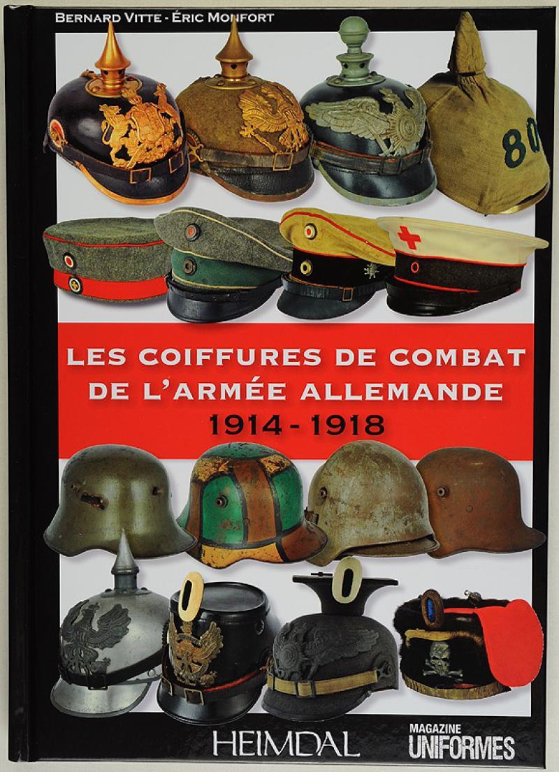 les coiffures de combat de l 39 arm e allemande 1914 1918. Black Bedroom Furniture Sets. Home Design Ideas