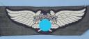 INSIGNE DE POITRINE TROUPE DES UNITÉS DE LA PROTECTION AÉRIENNE, RLB Reichsluftschutzbund großes Brust-Emblem für Mannschaften « Luftschutz », Seconde Guerre Mondiale.