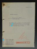 ATTESTATION DE NOMINATION DE WALTER KRÜGER EN TANT QUE RESPONSABLE DU RÉGIMENT SS V.T. 2 « GERMANIA », Troisième Reich.
