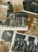ENSEMBLE DE 17 PHOTOGRAPHIES DE PILOTES FRANÇAIS DURANT LA PREMIÈRE GUERRE MONDIALE ET EN SYRIE DANS L'IMMÉDIAT APRÈS GUERRE, Première Guerre Mondiale - Troisième République.