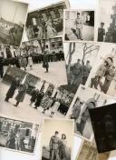 ENSEMBLE DE PHOTOGRAPHIES DE SOLDATS FRANÇAIS, Seconde Guerre Mondiale.