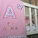 Photo of Personalised Baby Blankets