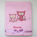 Photo of 'Hoot Hoot' Owl Baby Blanket