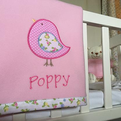 Photo of Personalised Baby Blanket