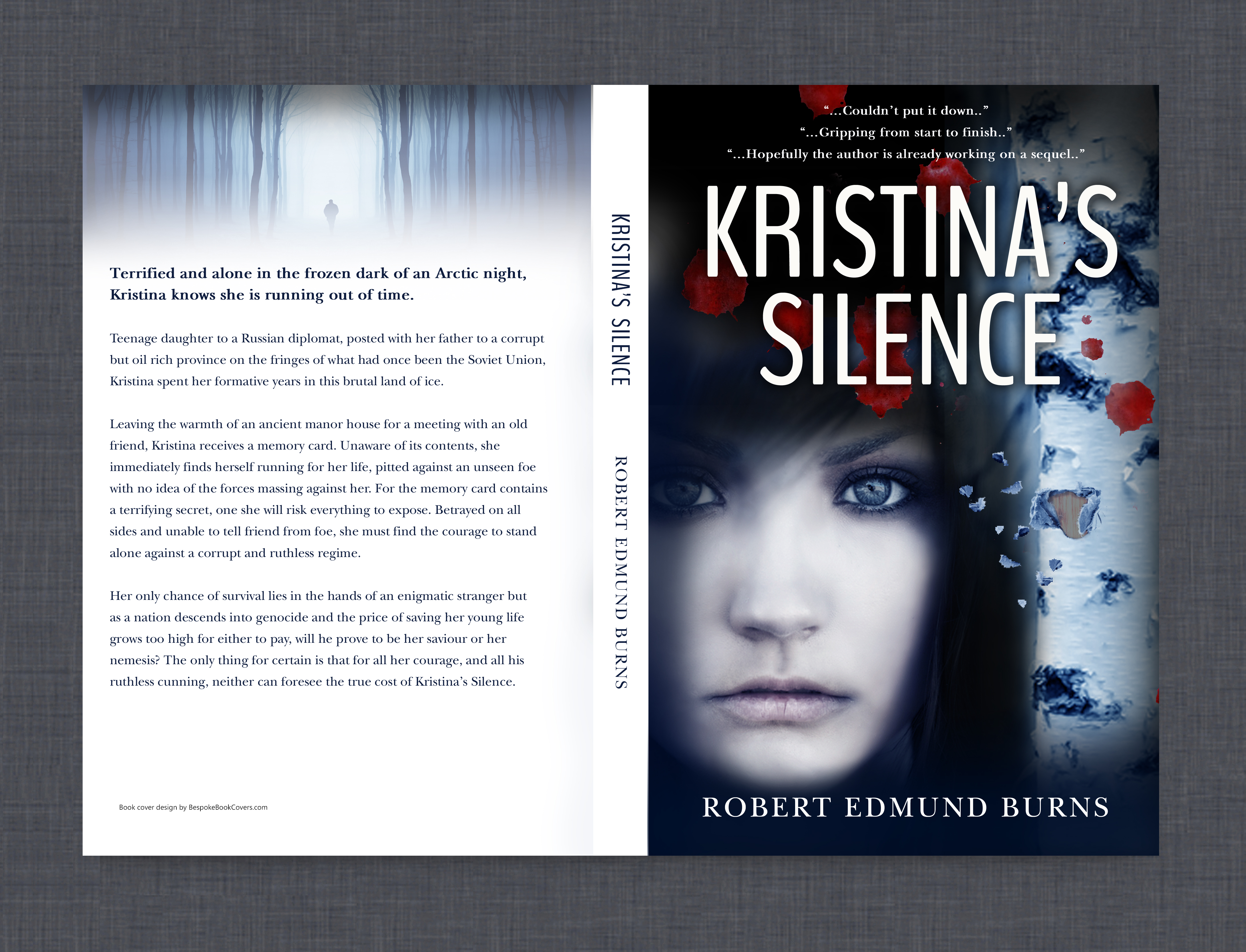 kristina's silence book cover
