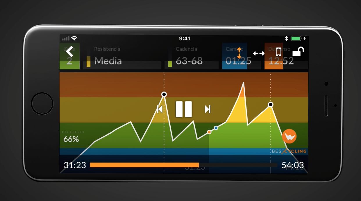 Vista de la herramienta para ampliar la pantalla y ajustar el tamaño de la gráfica