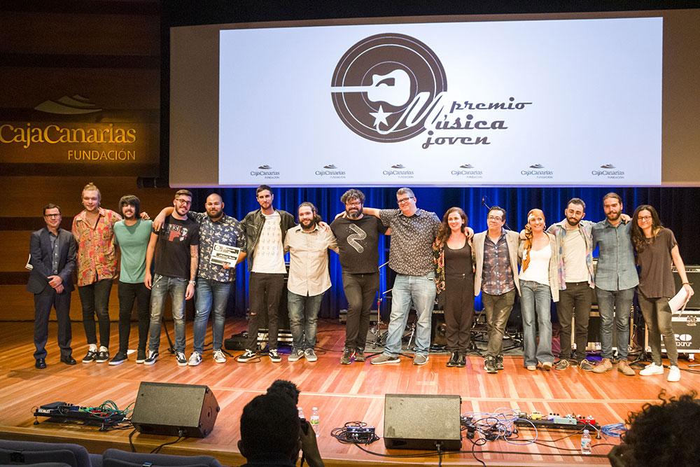 Premios música joven Cajacanarias fundación 2019