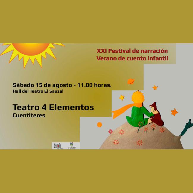 4 elementos teatro en verano de cuento