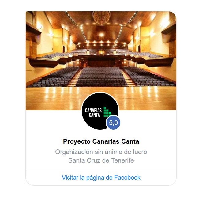 Canarias Canta Facebook