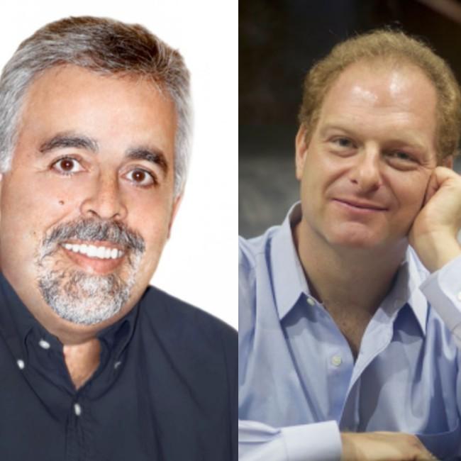 Miguel Ángel Diones y Javier Lanis