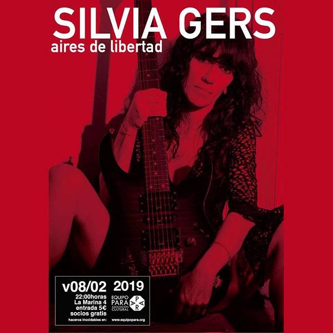 Equipo PARA cartel Silvia Gers
