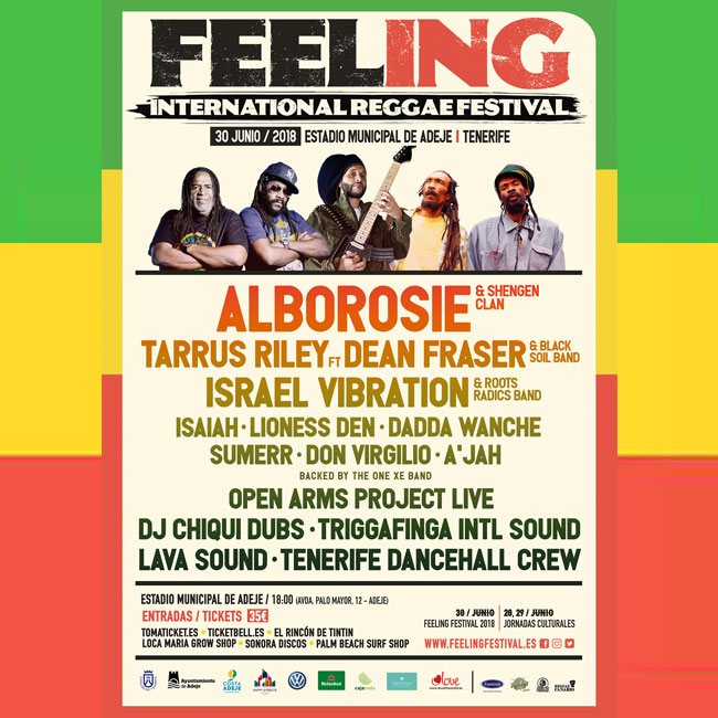 Feeling Festival 2018 Cartel