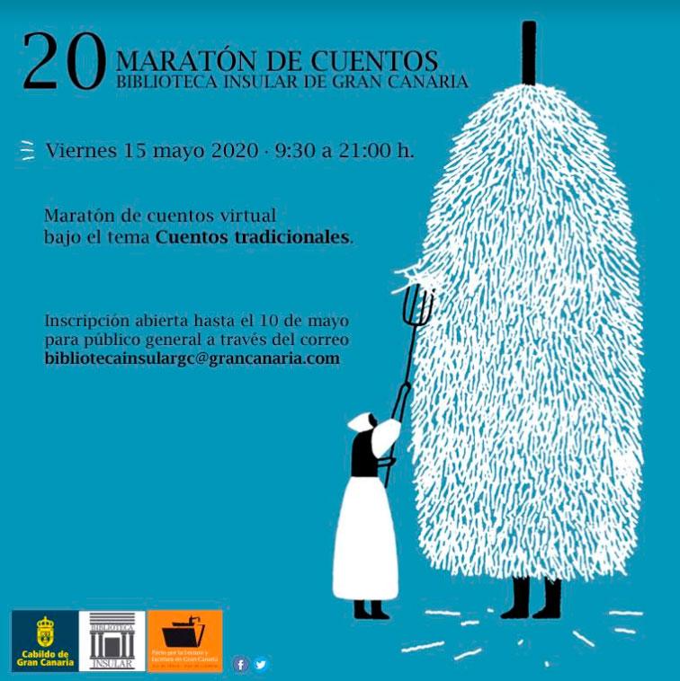 20 maraton cuentos 2020