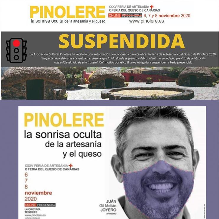 Pinolere suspende presenciales