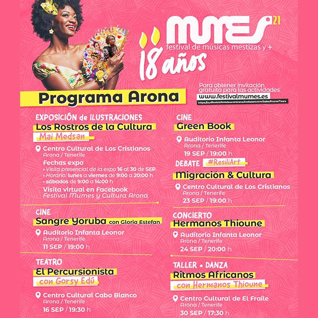programa 18 mumes