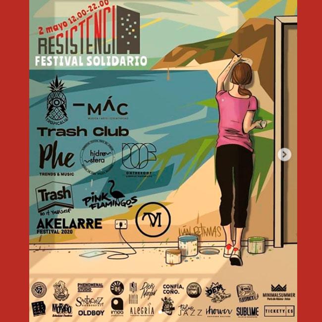 Resistencia Festival cuarentena covid19 2020 cartel