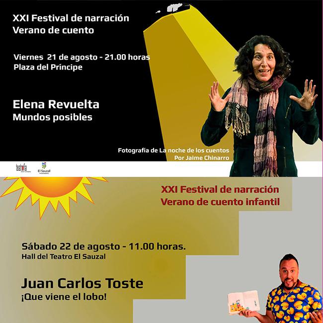 a palmera Elena Revuelta y el realejero Juan Carlos Toste