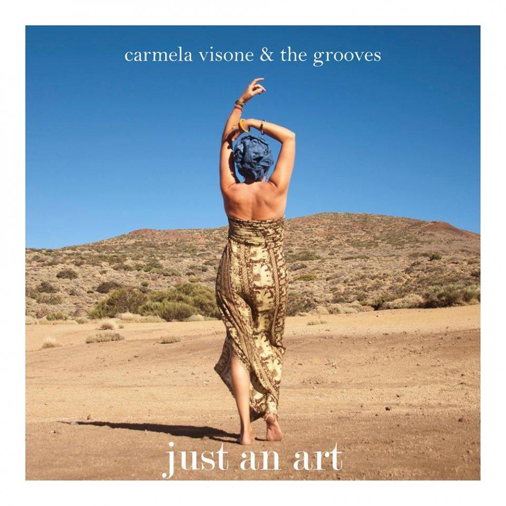 Just an art' Carmela Visone & The Grooves   Lagenda