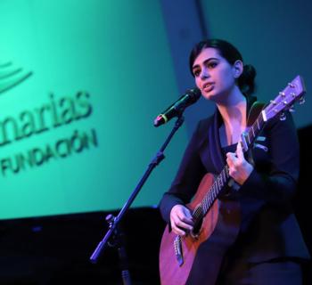 Paula Espinosa ganadora del Premio de Música Joven de la Fundación CajaCanarias  2021