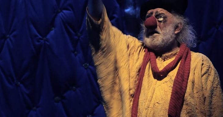 Slava Polunin y Jacques Tati en Cine FIC 2021 tea clown octubre 2021