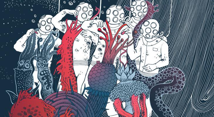'HUMANOIDES DEL ABISMO'. Salétile. Keroxen (2018)