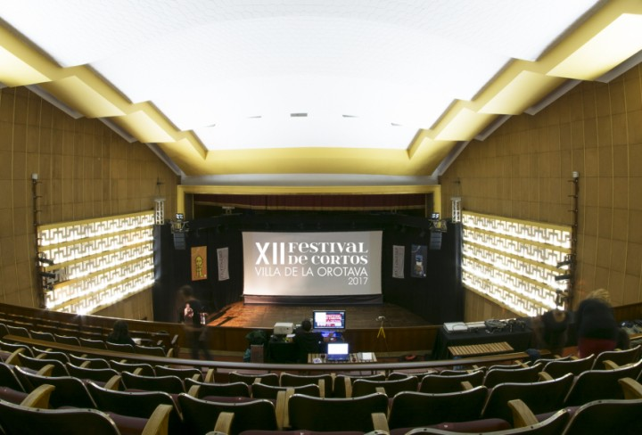 Festival Cortos Orotava 2017 sala