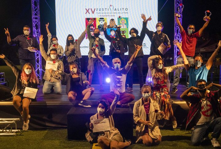 Foto Galardonados Gala de Clausura Festivalito 2020