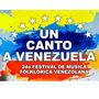 Segundo festival de Música Folclórica Venezolana