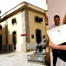 Adelaida Arteaga primer premio de la Bienal de Artes Plásticas 2015