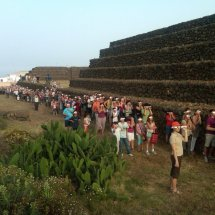 Solsticio de verano Pirámides de Güímar 2017