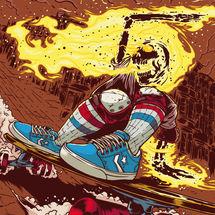 Expo Macarrismo Ilustrado, Marcos Cabrera